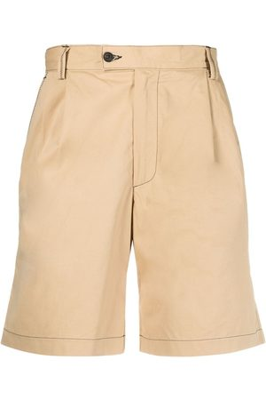 Phipps High-rise knee-length shorts