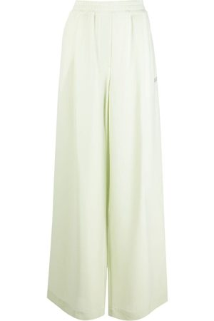 OFF-WHITE Wide-leg trousers