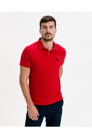Superdry Classic Polo Shirt Red