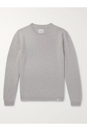 Norse projects Homem Camisolas sem capuz - Sigfred Mélange Brushed-Wool Sweater