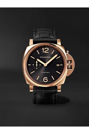 PANERAI Homem Relógios - Luminor Due Automatic 42mm Goldtech and Alligator Watch, Ref. No. PAM01041