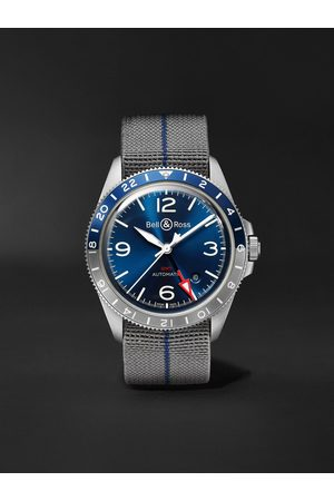 Bell & Ross Homem Relógios - BR V2-93 GMT Automatic 41mm Steel Watch