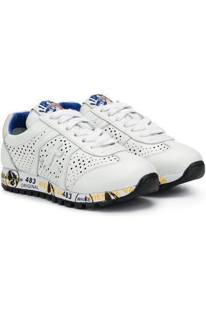 Premiata Menina Ténis - Lucy-B perforated lace-up sneakers