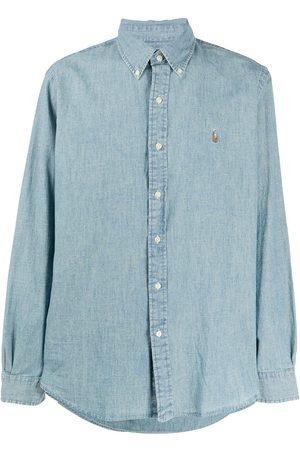 Polo Ralph Lauren Logo-embroidered chambray shirt