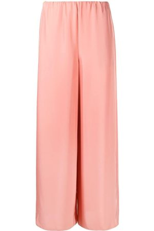THEORY High-waisted wide-leg trousers