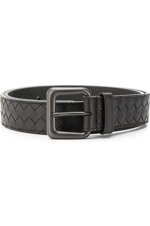 Bottega Veneta Intreciato weave belt