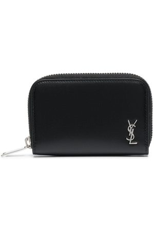 Saint Laurent Monogram-plaque wallet
