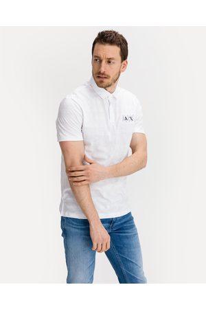 Armani Polo Shirt White