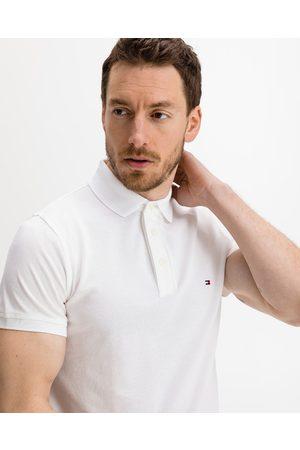 Tommy Hilfiger Homem T-shirts & Manga Curta - 1985 Polo T-shirt White