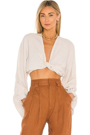 Just BEE Queen Adri Top in - Tan. Size L (also in XS, S, M).