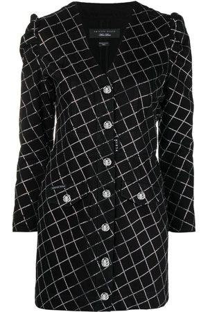 Philipp Plein Crystal-embellished denim dress
