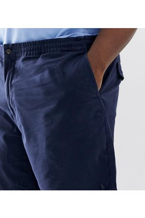 Polo Ralph Lauren Big & Tall Prepster player logo chino shorts in navy