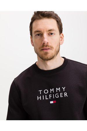 Tommy Hilfiger Stacked Flag Sweatshirt Black