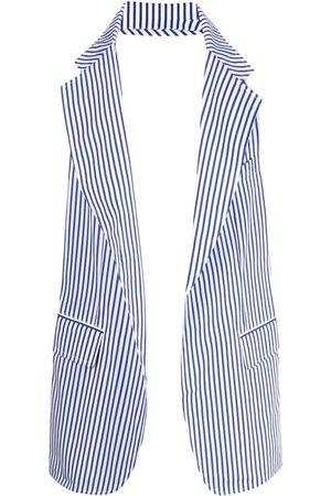 Comme des Garçons Homem Blazers - Striped blazer-vest