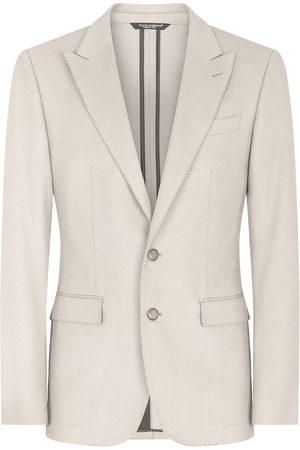 Dolce & Gabbana Homem Blazers - Taormina-fit single-breasted blazer