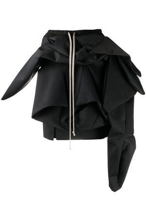 Rick Owens Knotted-detail mini skirt