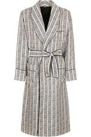 Dolce & Gabbana Striped belted robe
