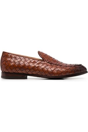 Scarosso Vittorio interwoven loafers