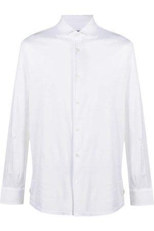 FEDELI Homem Formal - Plain button-down shirt