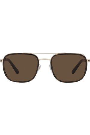 Bvlgari Homem Óculos de Sol - Aviator-frame sunglasses