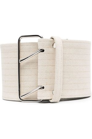 Jil Sander Stripe detail belt