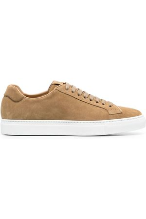 Scarosso Smooth lace-up sneakers