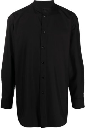 Jil Sander Collarless silk shirt