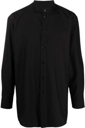 Jil Sander Collarless silk shirt