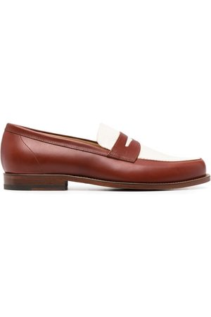 Scarosso Homem Oxford & Moccassins - Havana colour block loafers