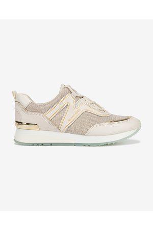 Michael Kors Senhora Ténis - Pippin Trainer Sneakers Beige