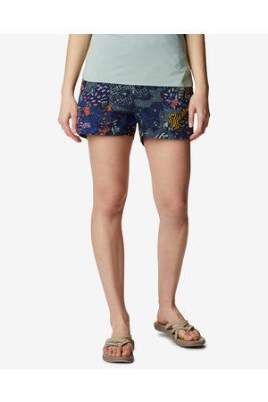 Columbia Senhora Calções - Summerdry Cargo Shorts Blue