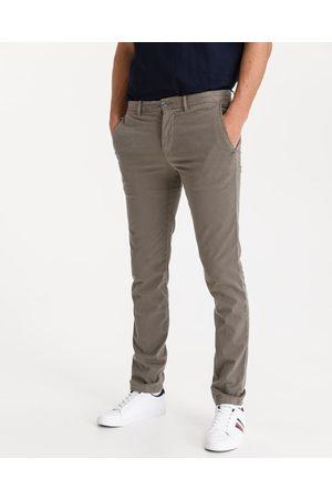Tommy Hilfiger Homem Calças Chino - Bleecker Chino Trousers Brown