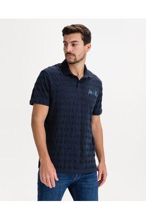 Armani Polo Shirt Blue