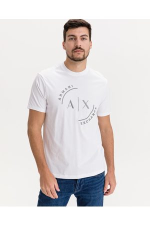 Armani Homem T-shirts & Manga Curta - T-shirt White