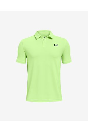Under Armour Performance Kids Polo Shirt Green