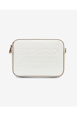 Emporio Armani Senhora Malas à Tiracolo - Cross body bag White
