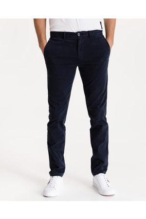 Tommy Hilfiger Homem Calças Chino - Bleecker Chino Trousers Blue