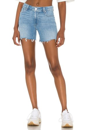 Paige Sarah Longline Short in - Blue. Size 23 (also in 24, 25, 26, 27, 28, 29, 30, 31).