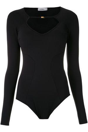 AMIR SLAMA Long-sleeved bodysuit