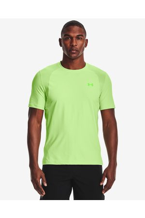 Under Armour Iso-Chill Run T-shirt Green Yellow