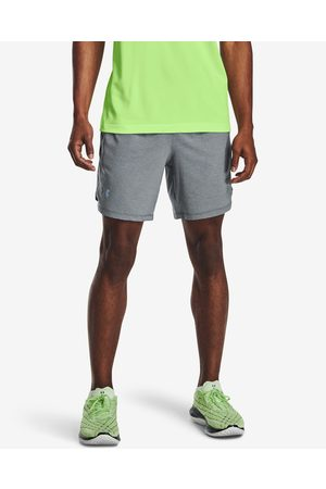 "Under Armour Launch Run 7"" Shorts Grey"