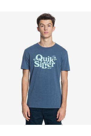 Quiksilver Homem T-shirts & Manga Curta - Tall Heights T-shirt Blue