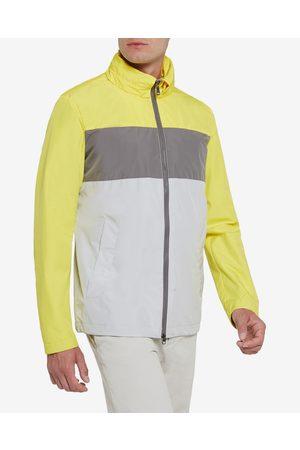 Geox Elver Jacket Yellow Grey
