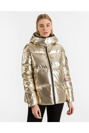 Tommy Hilfiger High Gloss Down Jacket Gold