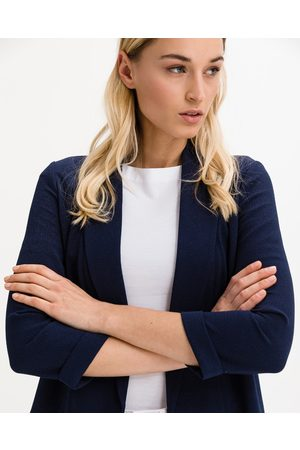 Vero Moda Senhora Blazers - Ethakatey 3/4 Blazer Blue