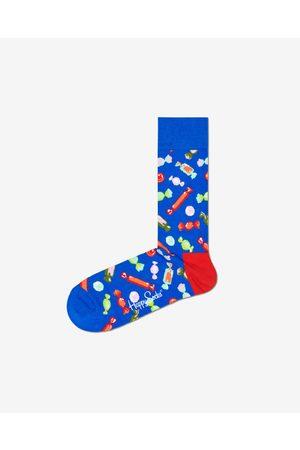 Happy Socks Homem Meias - Bon Bon Socks Blue