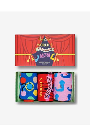 Happy Socks Mother´s Day Set of 3 pairs of socks Colorful