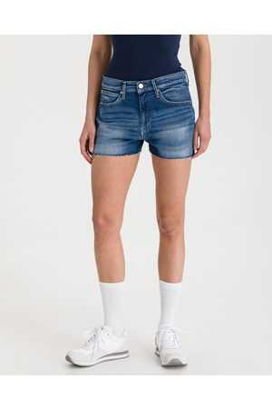 Tommy Hilfiger Senhora Calções - Shorts Blue