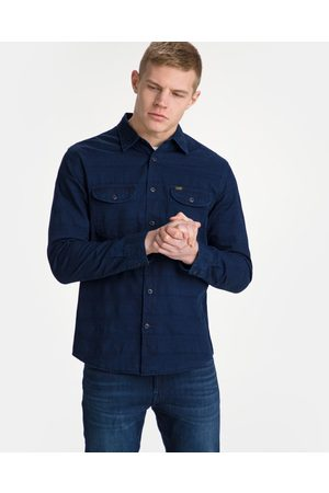 Lee Homem Manga comprida - Worker Shirt Blue