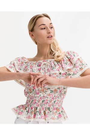 Guess Senhora Formal - Isotta Blouse Pink Colorful
